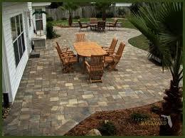 backyard paver designs. Unique Backyard Paver Patio Design With Backyard Paver Designs B