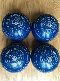Almark Henselite Sterling Slimeline Lawn Bowls Size 4 Hm Blue In Milton Keynes Buckinghamshire Gumtree