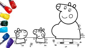 Select from 35450 printable coloring pages of cartoons, animals, nature, bible and many more. Coloring Baby Peppa Pig And Baby Suzy Sheep 1080p Peppa Pig Coloring Pages Youtube