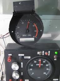 tachometer repair restoration for chevelle classic cars the picture on the left is gm s first attempt to create an air coil movement for it s tachometers the white circuit in the first pic had out dated active