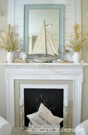 best 25 beach style fireplace mantels ideas on summer