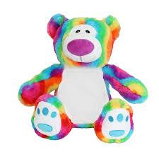 Rainbow Bear Purple Nose Remembears International