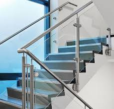 china indoor and outdoor 304 316 stainless steel glass stair railing china glass baer frameless glass railing