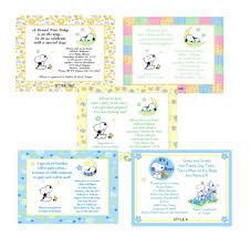 Baby Snoopy Cute Baby Shower Invitations Ebay
