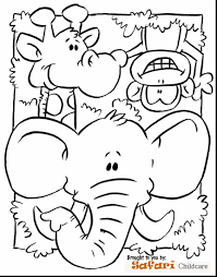 Safari Animals Coloring Pages Best Of African Animal Coloring Pages
