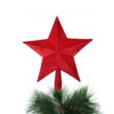 metal star wall decor: wholesale best sale new  colors christmas xmas tree decoration topper star hanging ornament home garden party decor