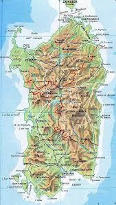 Ecco la cartina della spagna e del portogallo! Mappa Della Sardegna Cartina Della Sardegna