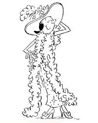 Small Picture Olive in Fancy Dress Coloring Page Cartoon pages of