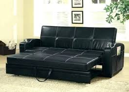 storage couch faux leather sofa bed with and cup holders under futon ikea
