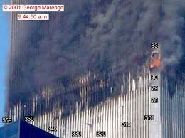 conspiracies twin towers skeptic project pictures of the south tower show that the floor was at the base of the fire affected area you can click the pictures for a larger image