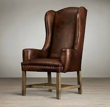 ivory leather dining chairs secret dining room ideas fascinating smoke leather dining arm chair crate and