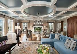 Look elegant and classic upholstered furniture 33 great decorating ideas  for ceiling design in living room