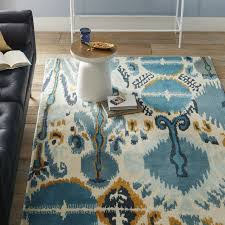 summer ikat special order wool rug 30 day delivery west elm