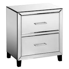 mirrored bedside table. image alouette mirrored bedside table am.pm. h