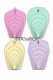 Paper Flower Cricut Template 006 71wchf0ymol Sl1500 Template Ideas Paper Flower Stunning