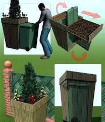 outside garbage cans outdoor can bins that win nine clever ways to hide your trash containers garbage can storage ideas outdoor