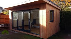 timber garden office. Garden Rooms Timber Office E