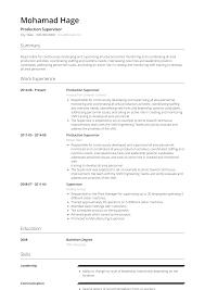 Glamorous Supervisor Resume Examples Sample Exam Samples For