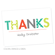 Blank Thank You Notes Kid Fill In The Blank Thank You Notes