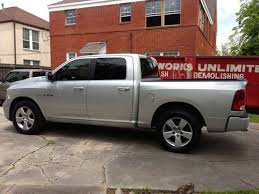 Sell used 2009 dodge ram 1500 Sport SLT Crew Cab (Silver) in Houston ...