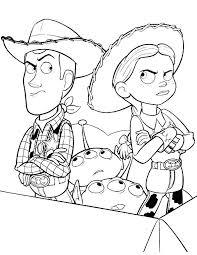 Toy Story Jessie Woody E Gli Alieni In Una Scatola Disegni Da