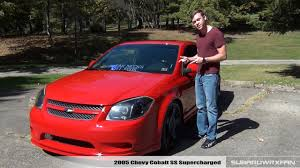 Review: 2005 Chevy Cobalt SS Supercharged - YouTube