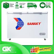 Nhập mã EXCLUSIVE giảm thêm 10%] TRẢ GÓP 0% - Tủ Đông Sanaky VH-285A2  (220L)- Bảo hành 2 năm giá rẻ 4.890.000₫