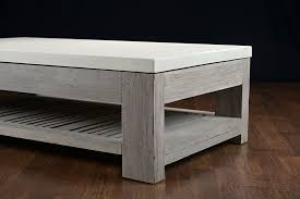 coffee table slatted teak and concrete outdoor coffee table concrete coffee table for