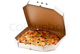 open pizza box with pizza. Brilliant Open Pizza In Open Cardboard Box Isolated On White Background  Stock Photo  Colourbox Throughout Open Box With