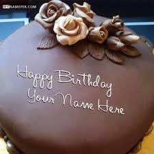 happy birthday chocolate cake with name. Interesting Birthday Yummy Rose Cake And Chocolate Cakes Image On Happy Birthday Chocolate Cake With Name