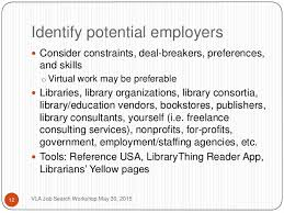 Professional Skill Set Capitalizing On Your Skill Set As An Information Professional