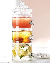glass drink dispenser drk beverage with spigot metal uk stand