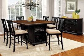 dining room chairs cherry. sabrina counter height dining set (cherry and black) room chairs cherry i
