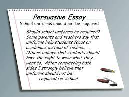 Argumentative Essay Set Up