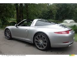 2015 Porsche 911 Targa 4S in GT Silver Metallic photo #4 - 135689 ...