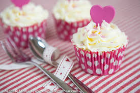 chocolate cupcakes with pink icing recipe. Perfect Recipe Cupcakes With Hearts In Chocolate With Pink Icing Recipe