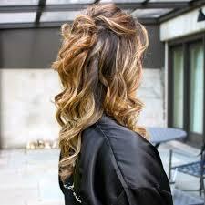 wear half up half down wedding hairstyles
