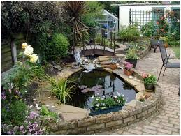 Small Picture Backyards Ergonomic Amazing Gardens With Small Backyard Pond