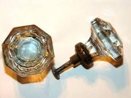 cabinet knobs vintage s drawer threaded sandwich antique restoration hardware pull medicine glass and pulls