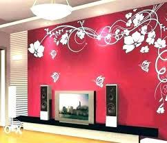Painting Designs On Walls Interior Design Wall Painting Cramerssabersrotcalumni Org