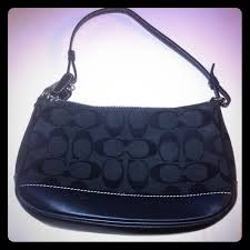 Small Black Coach Purse
