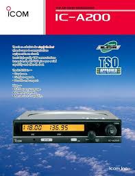 Vhf Air Band Transceiver Icom France