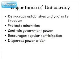 importance of democracy in essay topics coursework high  equality in n democracy