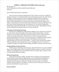 Scholarship Essay Examples Financial Need This Is An Example Of A Well Written Term Paper Take Note Of The