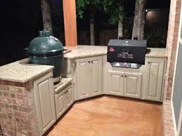 Big Green Egg Outdoor Kitchen Outdoor Kitchen Finished Big Green Egg Egghead Forum The