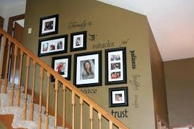 stairway decorating ideas creative staircase wall