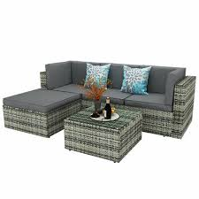 yitahome 5pcs outdoor patio sofa