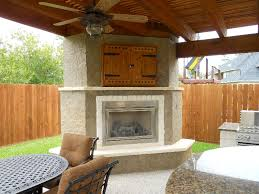 perfect design outdoor fireplace with tv easy outdoor fireplaces