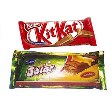 cadburys kit kat and 5 star australia delivery only