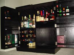 awesome dark liquor cabinet ikea made of wood with swivel door for home bar room furniture bar room furniture home